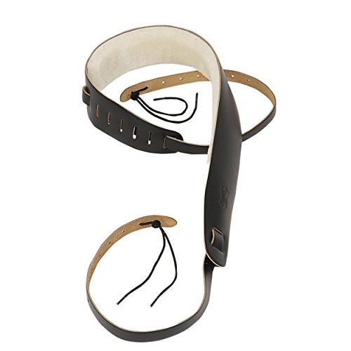 Levy's Leathers PM14-BLK Leather Banjo Cradle Strap, Black from Levy's Leathers