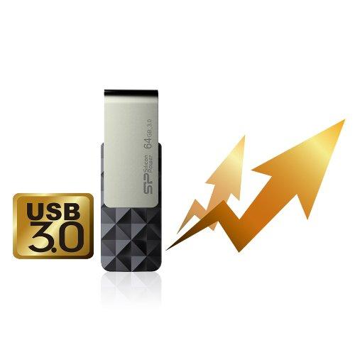 Silicon Power 32GB USB 3.0 Flash Drive, Blaze B30