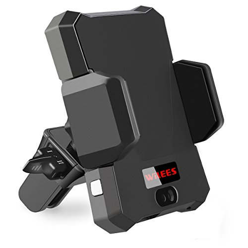 Magnetic Air Vent Mounted Car Phone Holder - Compatible with iPhone X/8/8 plus/7/7 Plus/6S/6S Plus/Galaxy Note 8/S8/S8 Plus & More