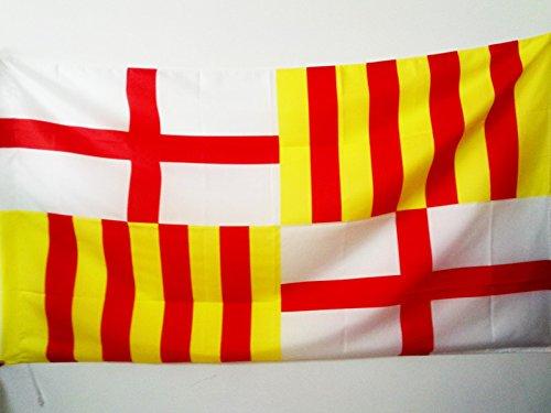 Amazon.com: Ciudad de Barcelona Bandera 3