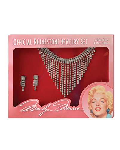 Mememall Fashion Marilyn Monroe Jewelry Set Costume Accessory (Jackie Moon Halloween Costume)