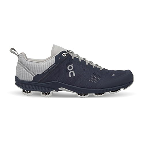 ON RUNNING Cloudsurfer Running Shoes hombre - Color: Asphalt/Sulphur azul