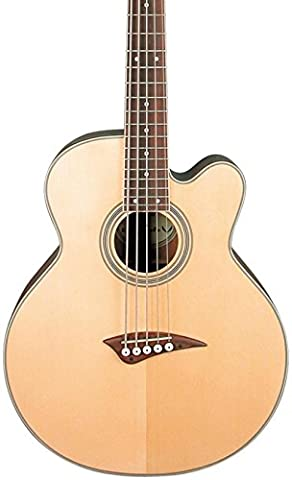 Dean Acoustic-Electric Bass Cutaway 5 String Satin Finish (Acoustic Basses)