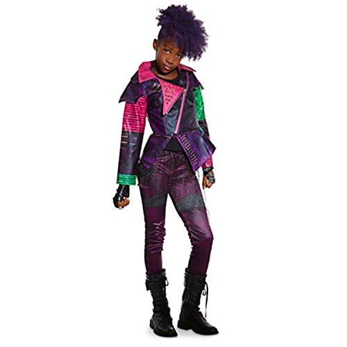 Disney Store Deluxe Descendants Mal Costume For Girls Size 78