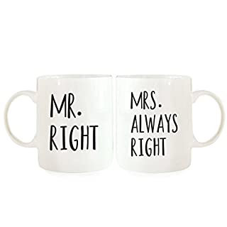 Funny His Gifffted I Like His Beard I Love Her Butt Coffee Mugs For The Couple