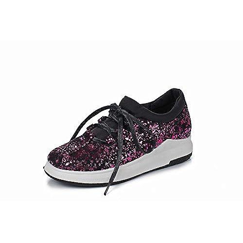 Chaussures Lacet off Fermetures Misssasa Loisir Femmes Talons 85 PTwqW