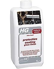 HG Beschermende coating Gloss Finish 33, glans, afdichting en bescherming voor natuursteen en marmeren vloeren, antislip formule - 1 liter (201100106)