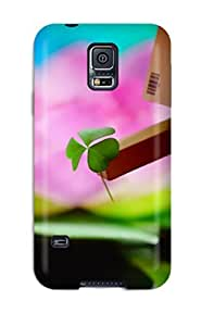 Excellent Design Cute I Love You Phone Case For Galaxy S5 Premium Tpu Case