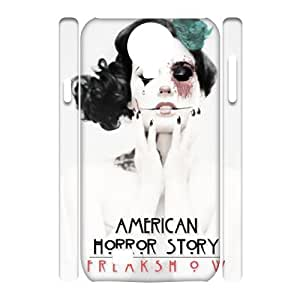 T-TGL(RQ) Samsung Galaxy S4 I9500 3D Hard Back Cover Case Horror Story with Hard Shell Protection