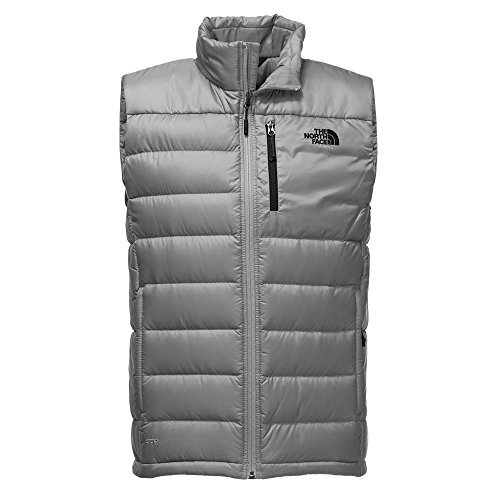 The North Face Men's Aconcagua Vest - Monument Grey - S (Past Season)