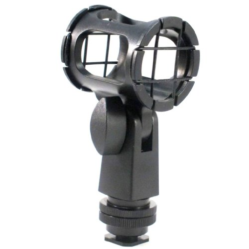 polaroid-microphone-shock-mount-with-dual-mount-design-shoe-mount-1-4-20-3-8