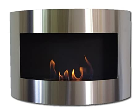 New Fireplace Model DIANA Deluxe Gel Bio Ethanol Black: Amazon.co.uk ...