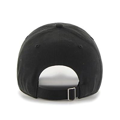 MLB San Francisco Giants Women's Sparkle Script Clean Up Adjustable Hat, Black