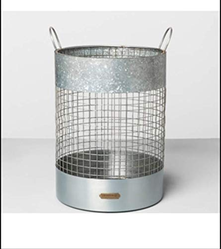 Paper Waste Basket - Silver - Hearth & Hand with Magnolia