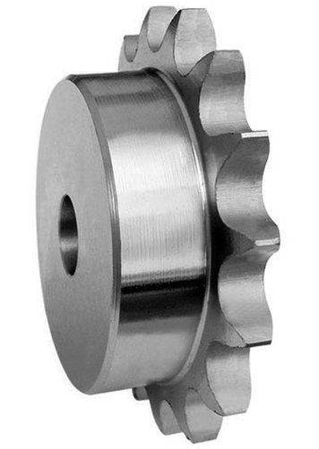 Ametric® 50B16 Inch ANSI 50-1 Hub Steel Sprocket, For #50 Single Strand Chain with, 5/8