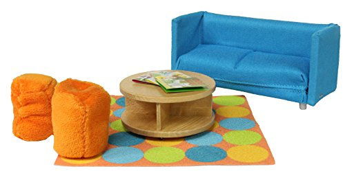 Lundby Smaland Dollhouse Sofa Bed Set