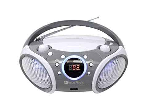SINGING WOOD CD/CD-MP3 Boombox P...