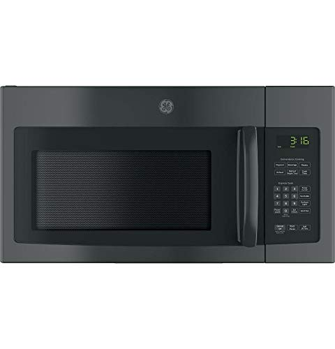 GE JNM3163DJBB Over-the-Range Microwave, 1.6
