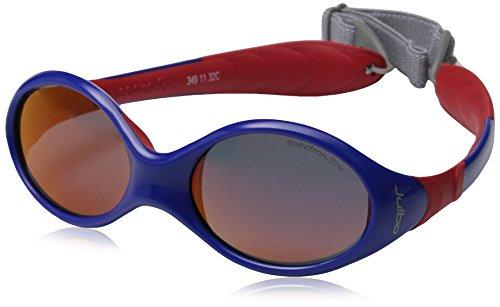 Julbo Looping III Toddler Sunglasses, Blue/Red, Spectron 3 CF Blue Lens, 2-4 - Julbo Sherpa Sunglasses