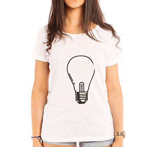 Luminiscente Illumina Camiseta Mujer