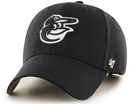 ('47 Authentic Baltimore Orioles Black MLB Adjustable - MVP)