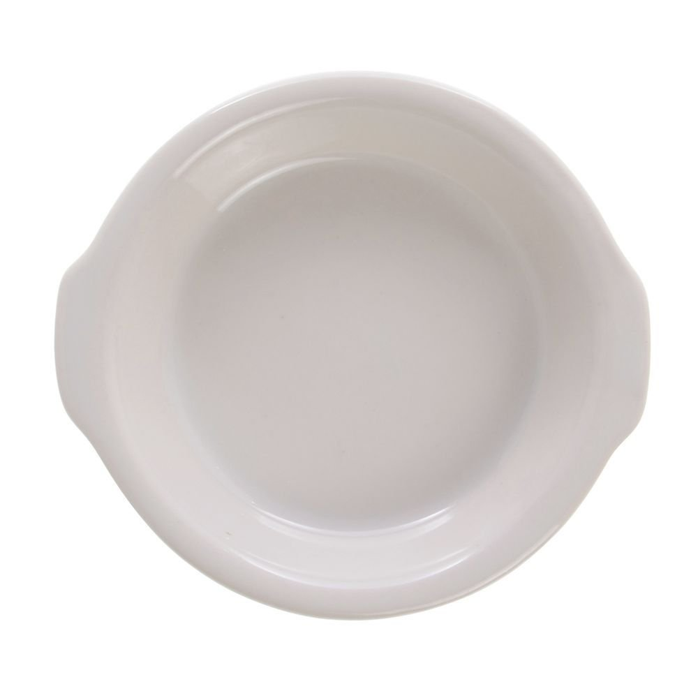 Diversified Ceramics Au Gratin Dish 7 oz Warm White Ceramic 24 Per Case