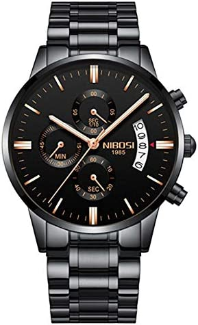 クォーツ腕時計ファッション高級男性腕時計ビジネスマン腕時計新しいタイプスポーツ防水時計クラシックブラック