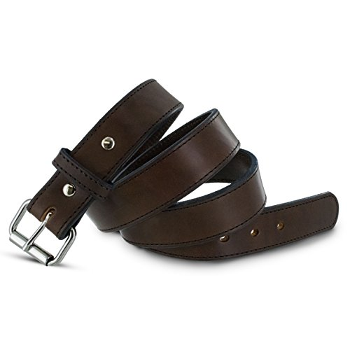 Hanks Extreme Leather Gun Belt for CCWConcealed Carry Premium Leather