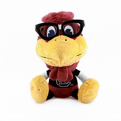 (Fabrique Innovations NCAA Study Buddy Mascot Plush Toy, South Carolina Fighting Gamecocks)