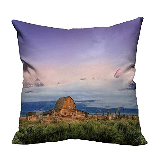- YouXianHome Zippered Pillow Covers Depositphotos stocksceni ab Done barn Decorative Couch(Double-Sided Printing) 21.5x21.5 inch