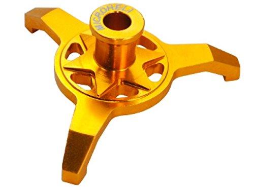 Microheli CNC Aluminum Swashplate Leveler (Gold) - Blade 300X