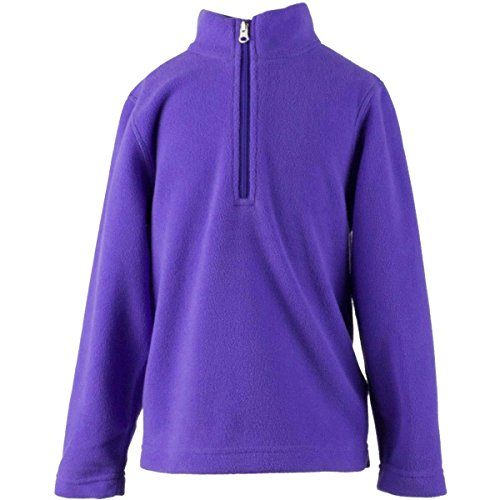 Micro Turtleneck Fleece (Obermeyer Kids Unisex Ultragear 100 Micro Zip-T (Toddler/Little Kids/Big Kids) Grapesicle Sweatshirt SM (3 Toddler))