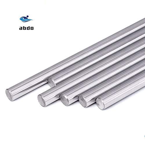 Length: 1pcs 300mm Ochoos 8mm Linear Shaft 100 150 200 250 300 350 400 500 600 mm Chromed Hardened Rod Linear Motion Shaft CNC Parts 3D Printer Parts