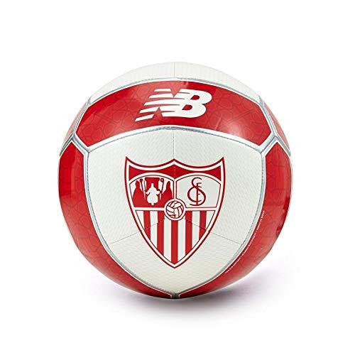 BALON SEVILLA FC TALLA 5 TEMP.17/18: Amazon.es: Deportes y aire libre
