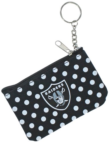 Oakland Raiders Card Holder (NFL Oakland Raiders Coin & ID Purse)