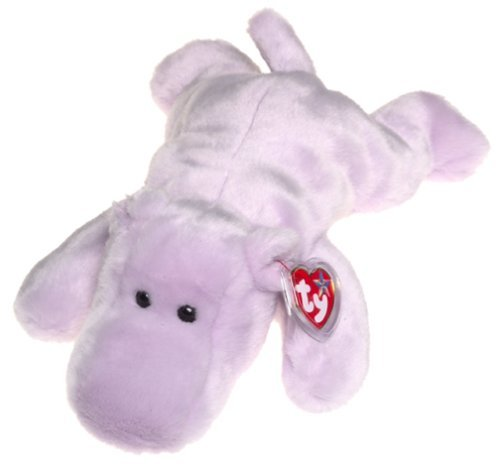 TY Happy the Hippo Beanie Buddy by Beanie Babies