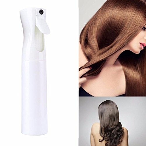 YJYdada 300ML Hairdressing Spray Bottle Salon Barber Hair Tools Water Sprayer (WHITE)