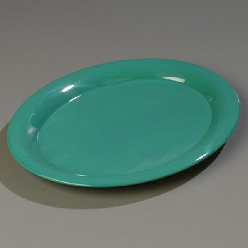 - Green Durus Designer Pattern Oval Platter 13 1/2 x 10 1/2 inch - 12 per case