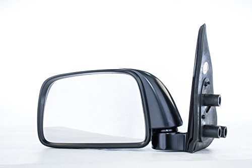 (Dependable Direct Left Driver Side Black Manual Folding Non-Heated Door Mirror for Toyota Tacoma (1995 1996 1997 1998 1999 2000) - TO1320116 )