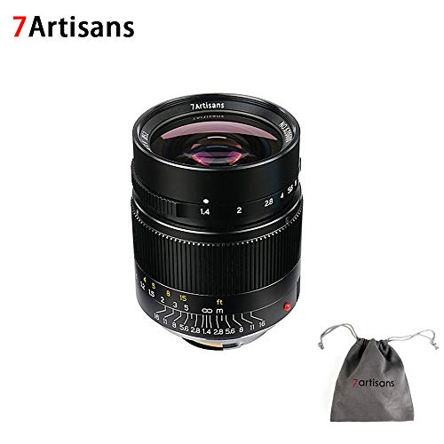 7artisans 28mm F1.4 Fixed Mirrorless Camera Lens for Leica M-Mount Cameras Like Leica M-M Leica M240 Leica M3 Leica M6 Leica M7 Leica M8 Leica M9 Leica M9p Leica M10 (Leica Version)