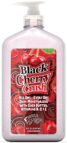 amazon com fiesta sun black cherry crush moisturizer beauty