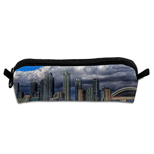 Kui Ju Pencil Bag Pen Case Toronto Cosmetic Pouch Students Stationery Bag Zipper Organizer ()