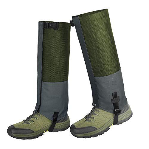 Unigear Leg Gaiters Waterproof Snow Boot Gaiters, Abrasion Resistance for Outdoor Hiking Walking Hunting Climbing Mountain