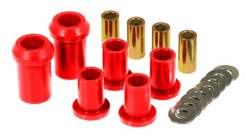 Prothane 4-206 Red Front Upper and Lower Control Arm Bushing -