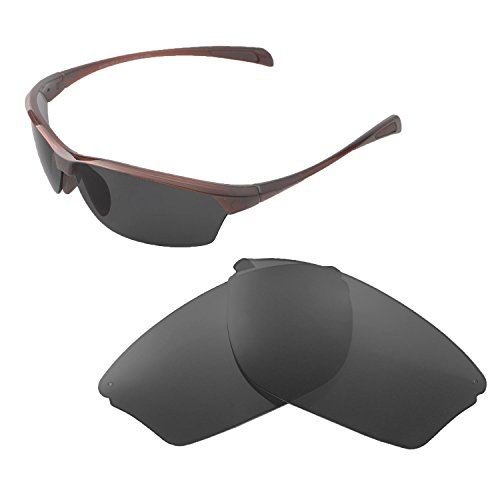 Walleva Replacement Lenses For Maui Jim Hot Sands Sunglasses - Multiple Options available (Black - - Jim Maui Lens Replacement