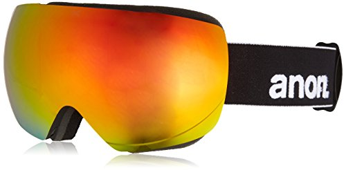 Anon Men's Mig Goggles, Black/Red Solex, One - Otg Anon Goggles