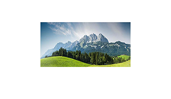 Laeacco Summer Holiday 10x6.5ft Backdrop Green Mountains Sunlight River Boating Background Country Scene Tourist Spot Leisure Vacation Adults Kid Baby Photo Shoot Props