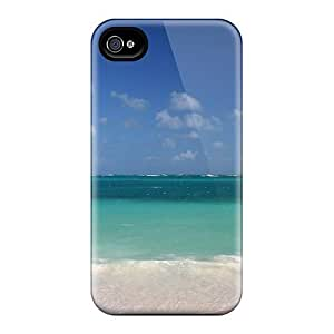 Awesome HTyWgnE1811VTfOe WilliamMorrisNelson Defender Tpu Hard Case Cover For Iphone 4/4s- Serene