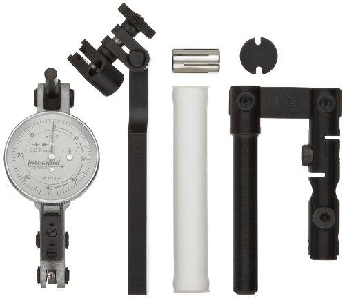 Brown & Sharpe TESA 74.111503 Interapid Full Indicator Set with Accessories, Horizontal Type, M1.7x4 Thread, 4mm Stem Dia. (6 Piece Set)