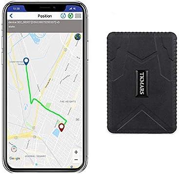 Hangang Rastreador GPS Magnético 120 días GPS Tracker en Espera, Localizador GPS a Prueba de Agua Dispositivo de Seguimiento en Tiempo Real Vehículo Automóvil con Camión para Auto GPS: Amazon.es: Electrónica